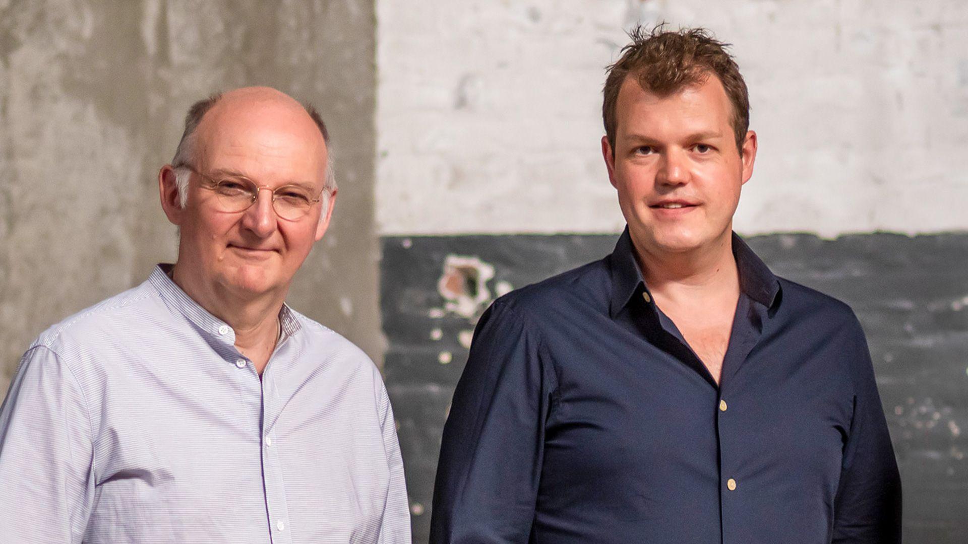 Peter van Beelen en Erik Vos